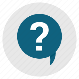 comments, enquiry, feedback, help, question, quiz, support icon