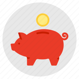 budget, finance, investment, money, piggy bank, savings icon