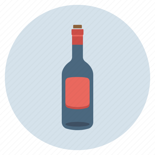 Alcohol, bottle, drink, empty, wine icon - Download on Iconfinder