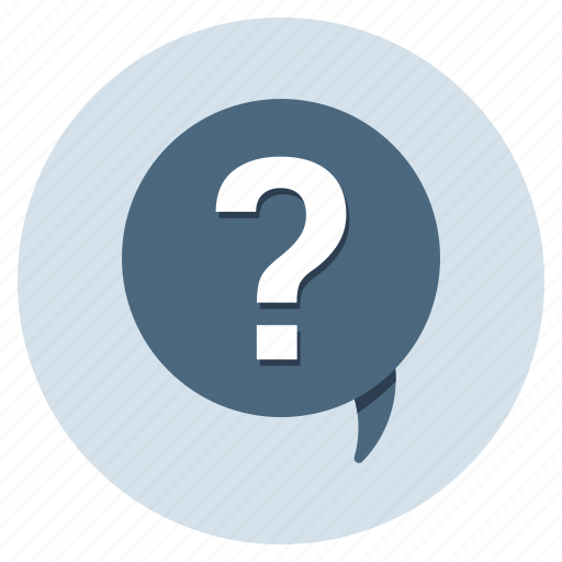 Comments, enquiry, feedback, help, question, quiz, support icon - Download on Iconfinder
