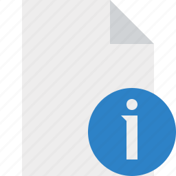 blank, document, file, information, page icon