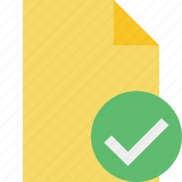blank, document, file, ok, page icon