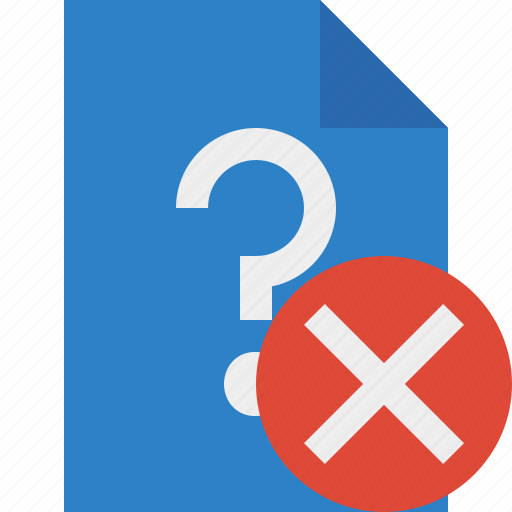 cancel, document, file, help, page, support, ticket icon