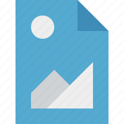 document, file, image, picture icon