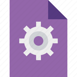 document, file, options, page, settings icon