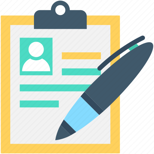 cv, editing, pen, resume, resume writing icon