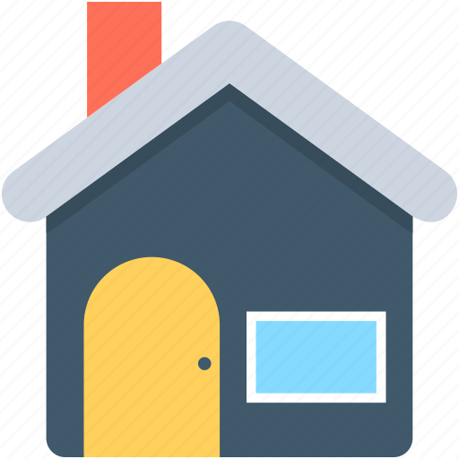 building, home, house, hut, residence icon