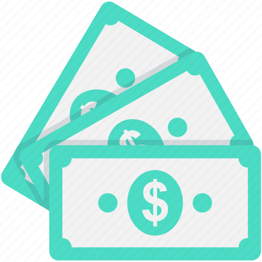 banknote, currency, dollar, paper money, paper note icon