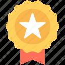 award, award badge, award ribbon, badge, star badge