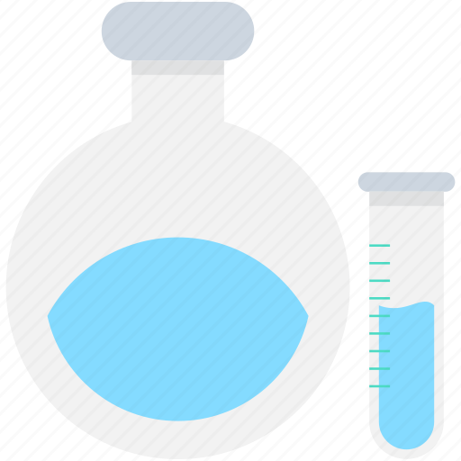 chemical, conical flask, flask, laboratory, test tube icon