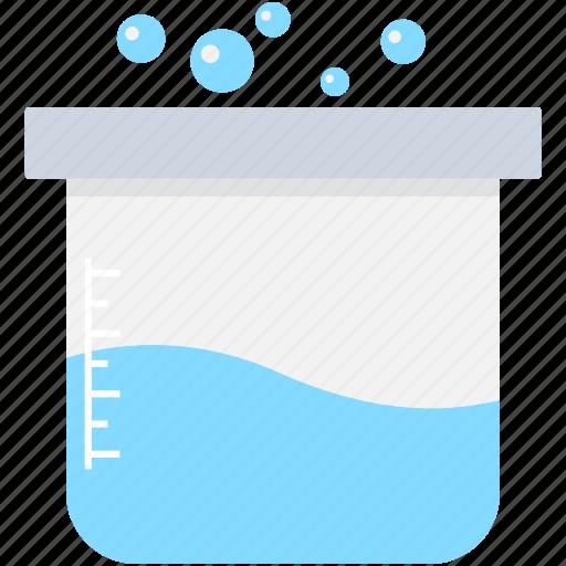beaker, glass beaker, lab beaker, lab test, measuring cup icon