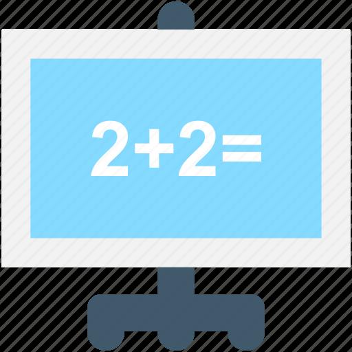 calculation, education, math class, math sum, maths icon