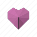 element, heart, love icon