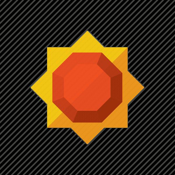 day, heat, season, sun icon