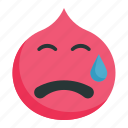 cry, emotion, face, tear, weep icon