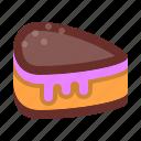 bakery, cake, dessert, food, ice cream, slice, sweet