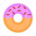 cake, candy, dessert, donut, food, simpson, sweet icon