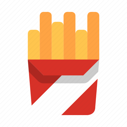 fast food, food, france, french, fries, meal, potato icon