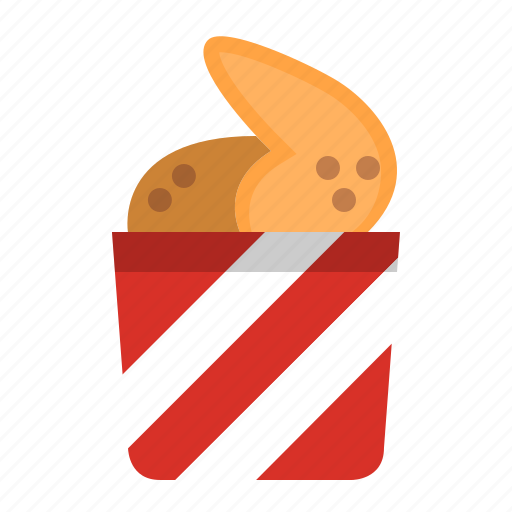 chicken, fast food, food, fried, meal, roast, wings icon