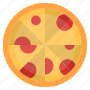 cheese, fast food, food, italian, meal, pizza, slice