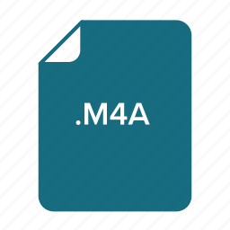 doc, est, m4a icon