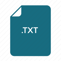doc, est, txt icon