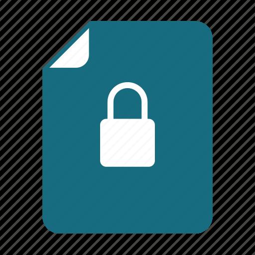 doc, lock, unlocked icon