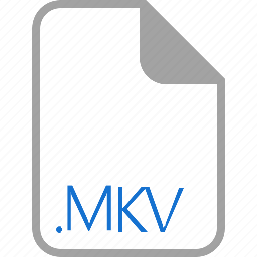 extension, file, filetype, format, mkv icon