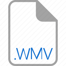 extension, file, filetype, format, wmv icon