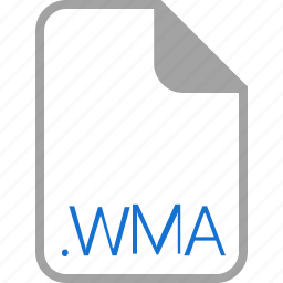 extension, file, filetype, format, wma icon