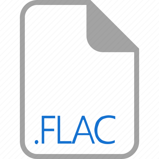 extension, file, filetype, flac, format icon