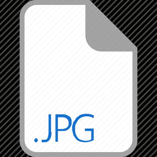 extension, file, filetype, format, jpg icon