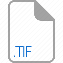extension, file, filetype, format, tif icon