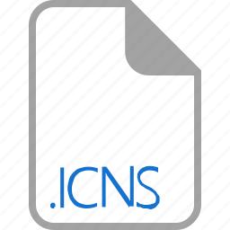 extension, file, filetype, format, icns icon