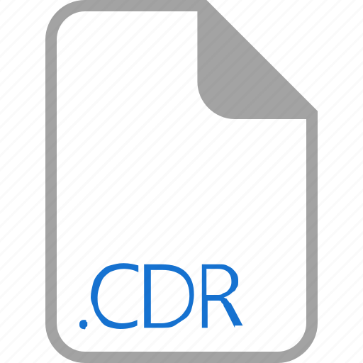 cdr, extension, file, filetype, format icon