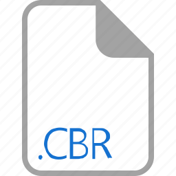 cbr, extension, file, filetype, format icon
