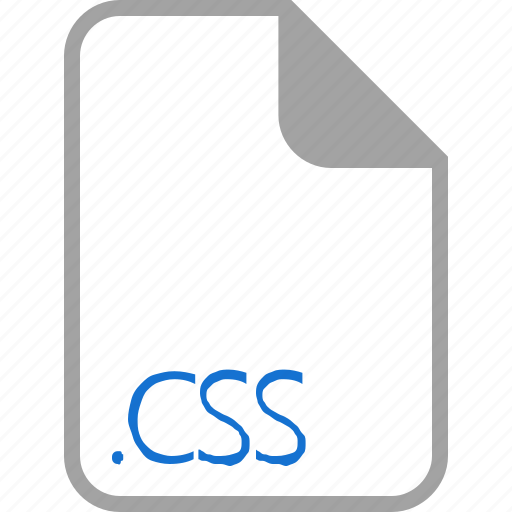 css, extension, file, filetype, format icon
