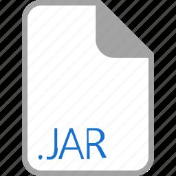 extension, file, filetype, format, jar icon