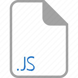extension, file, filetype, format, js icon