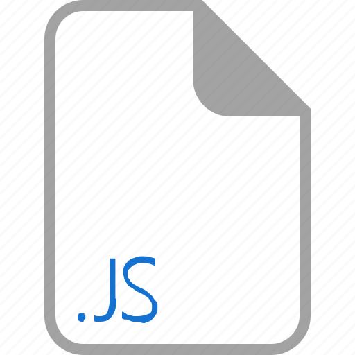 extension, file, filetype, format, js icon