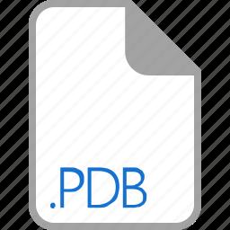 extension, file, filetype, format, pdb icon