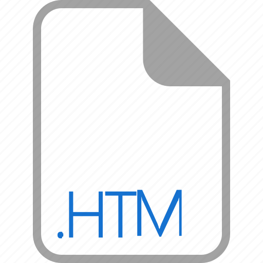 extension, file, filetype, format, htm icon