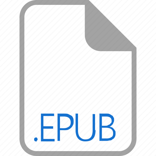 epub, extension, file, filetype, format icon