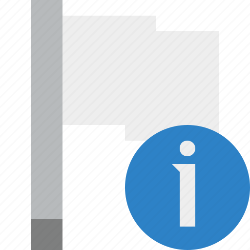 flag, information, light, location, marker, pin, point icon