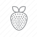 farm, food, fruit, strawberry, vegetables icon