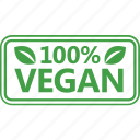chop, leaf, natural, vegan icon