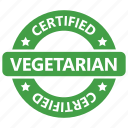certified, chop, natural, vegetarian icon