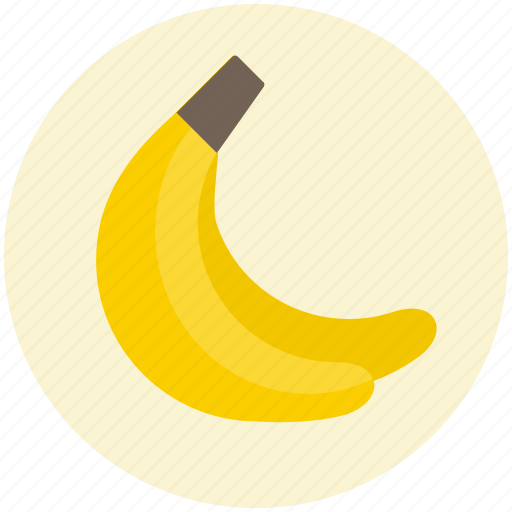banana, bananas, diet, food, fruit, healthy, tropical icon