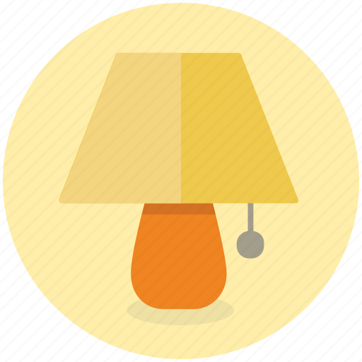 Bed, lamp, side, bedroom, furniture, interior icon - Download on Iconfinder
