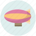 blimp, ride, transport, transportation, vehicle icon